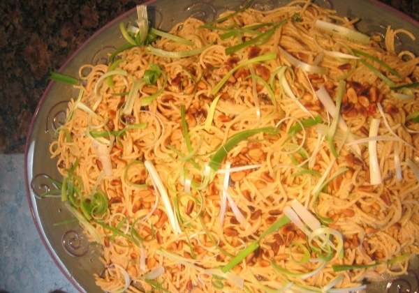 Recipe: Scrumptious Sesame Pasta