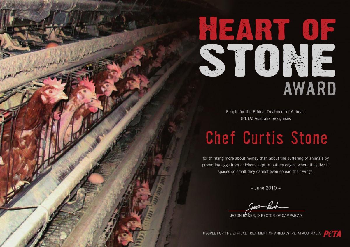 Curtis Stone Wins Heart of Stone Award
