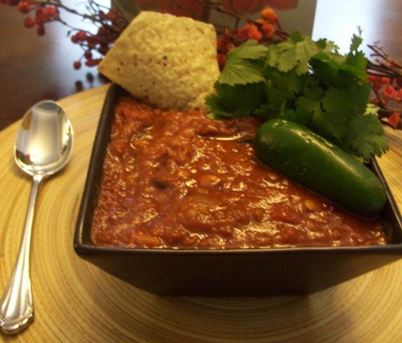 PETA Vegetarian Chili with Mixed Beans