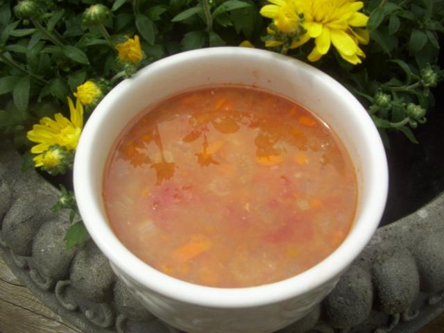 White Bean & Tomato Soup