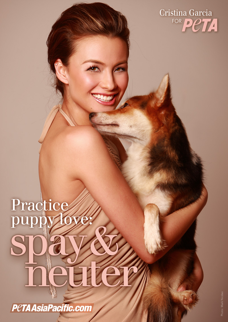 Cristina Garcia wants you to practice puppy love