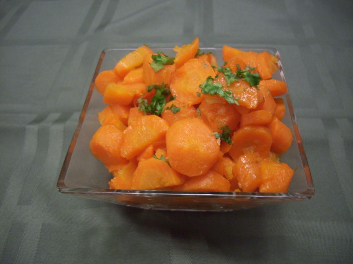 Easy Glazed Carrots