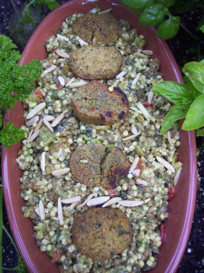 Morocan Couscous with Lentils
