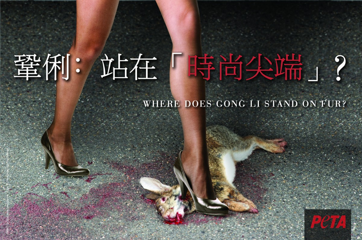 Year of the Rabbit Ad Targets Gong Li