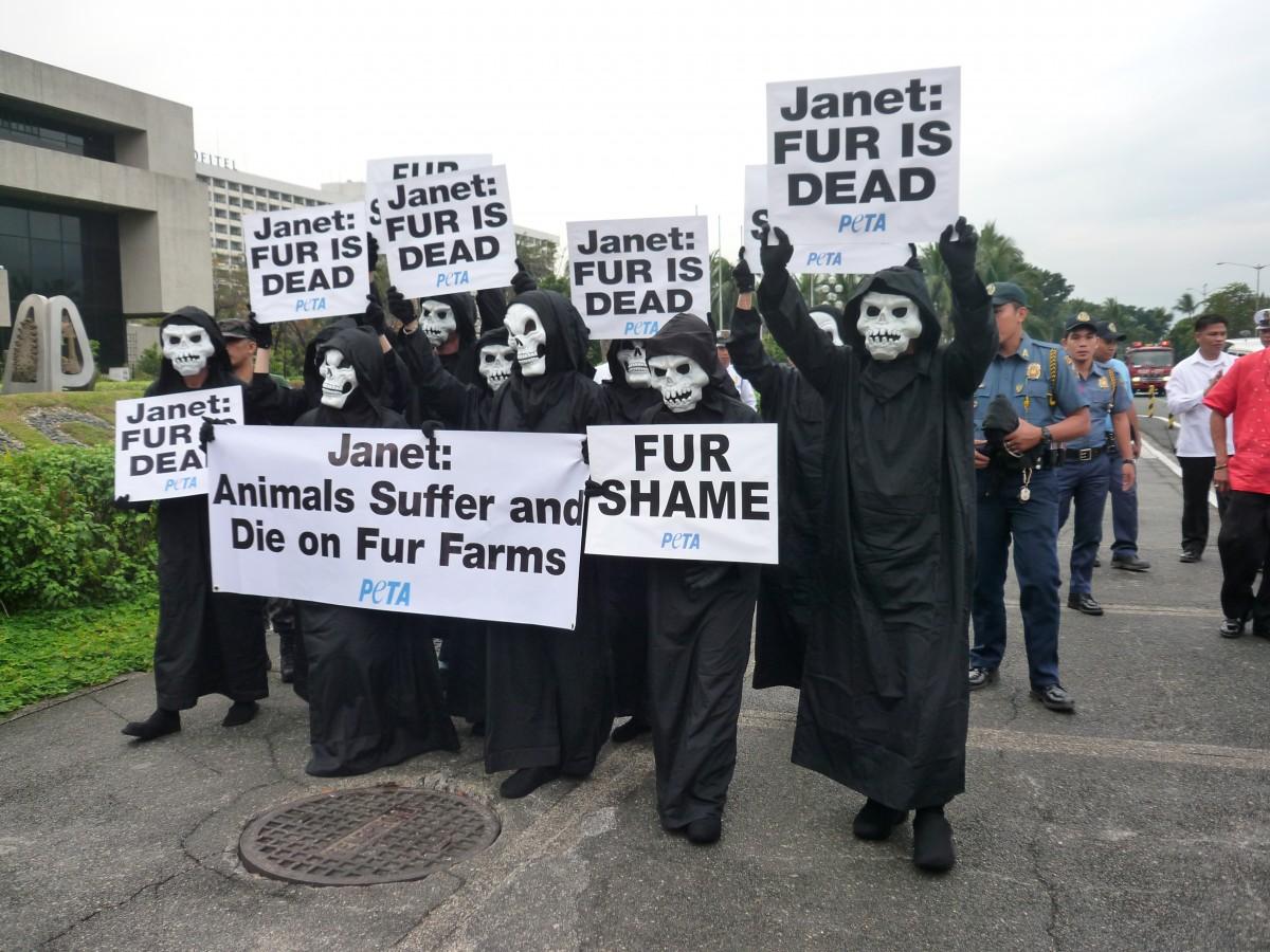 Janet Jackson protest in Manila