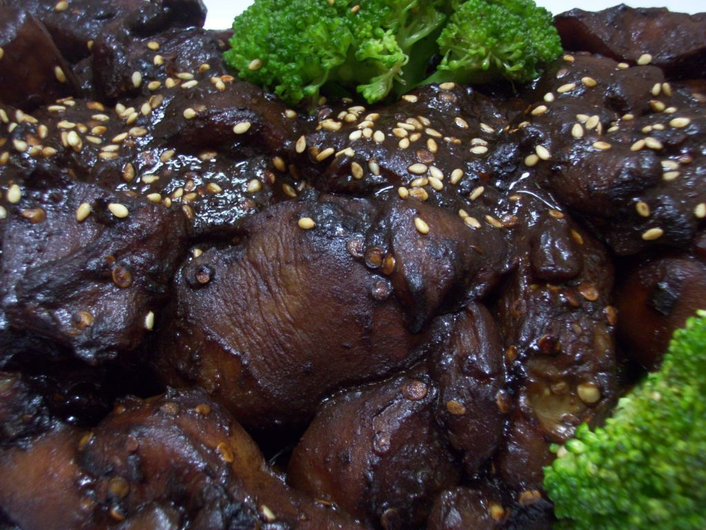 Eggplant with Black Bean Sauce