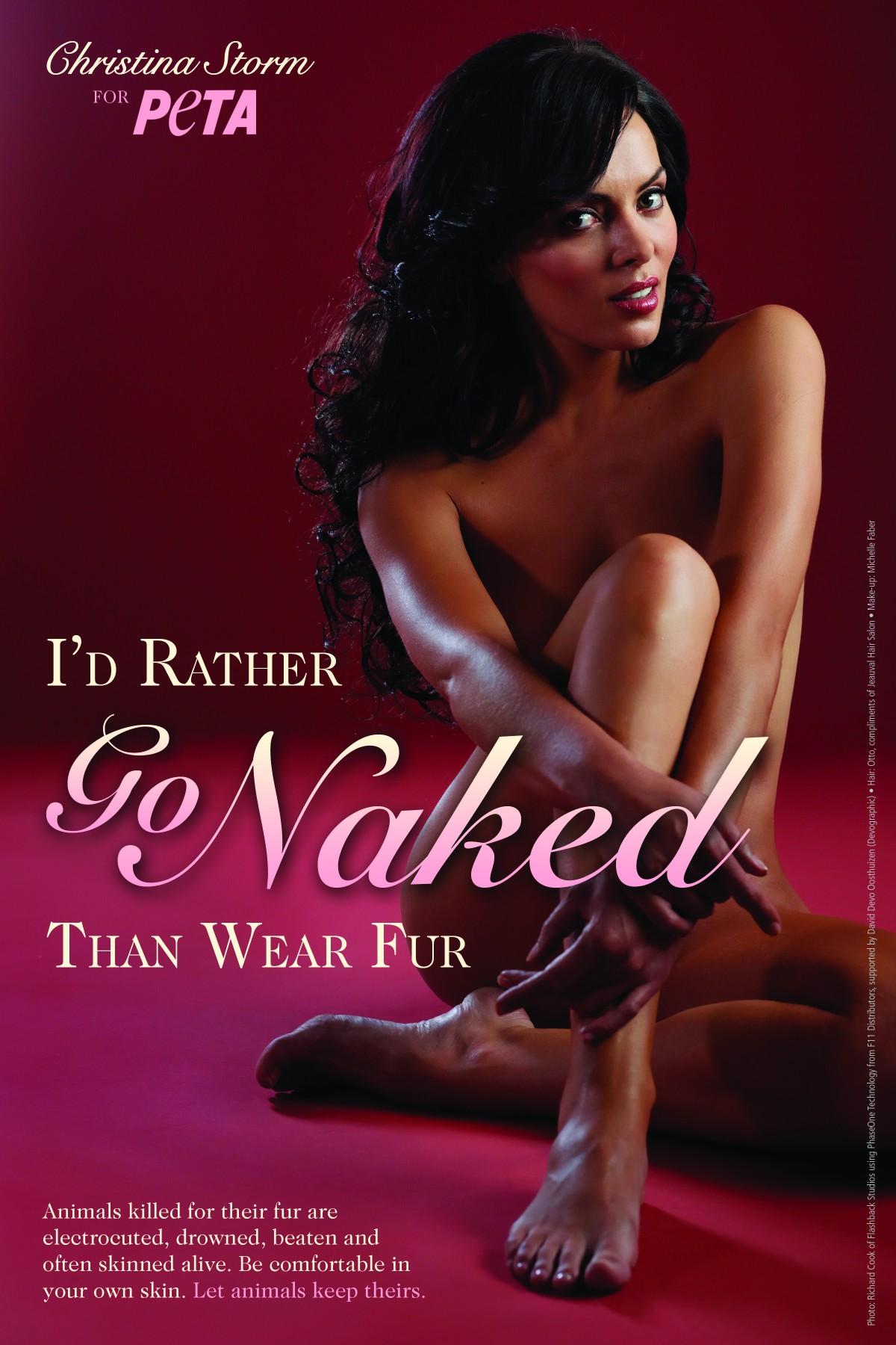 Christina Storm- I'd Rather Go Naked