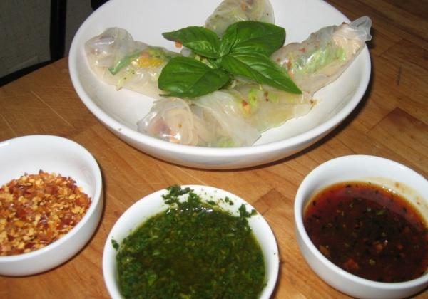 Recipe: Vietnamese Spring Rolls