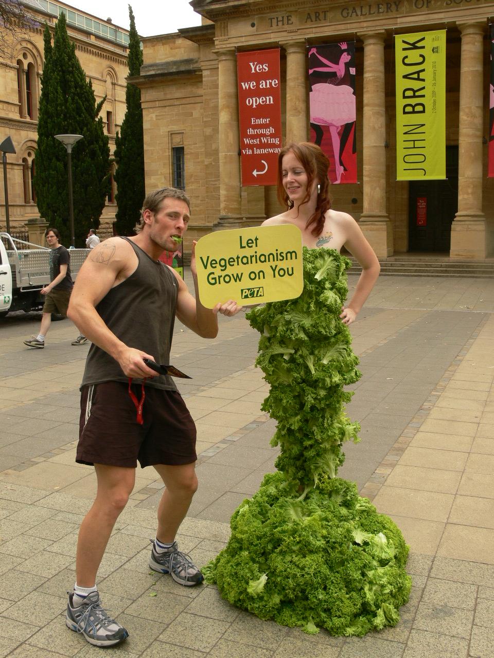Adelaide Lettuce Lady demo