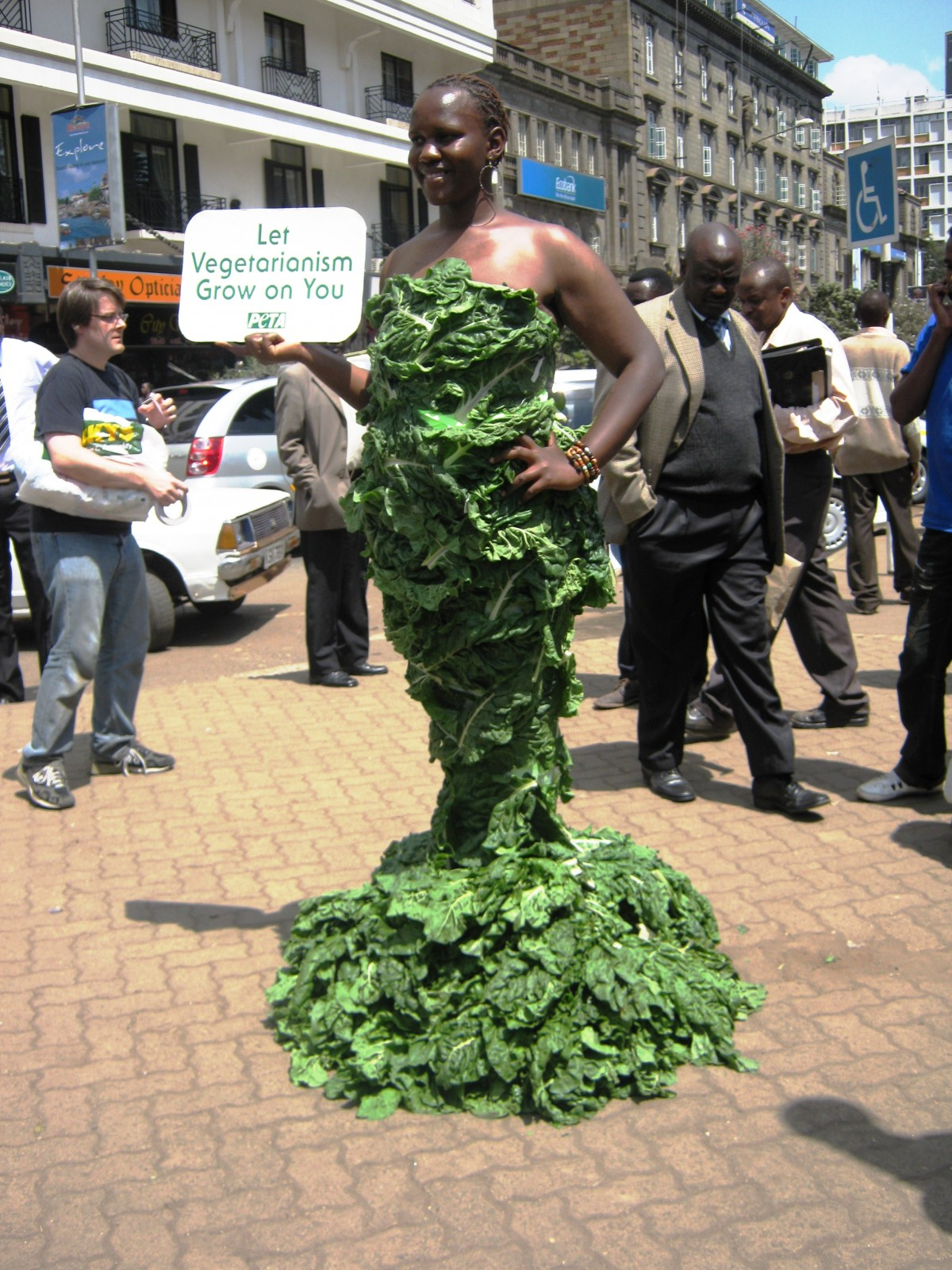 Nairobi Lettuce Lady