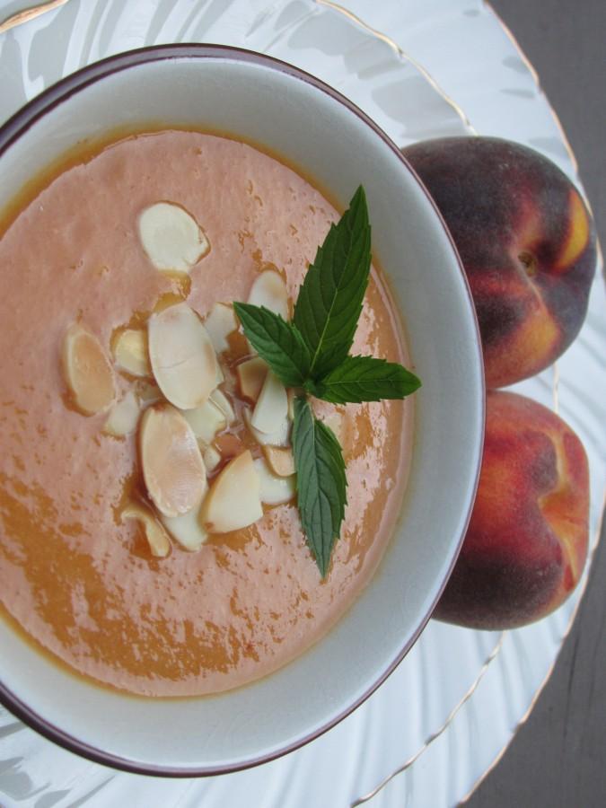 Peach Soup Prep