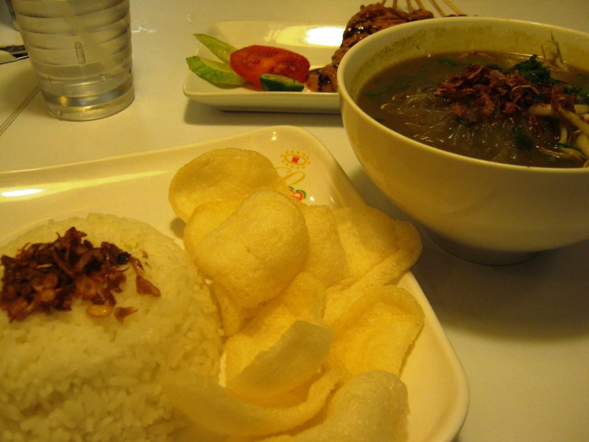 Golden Noodle Soup