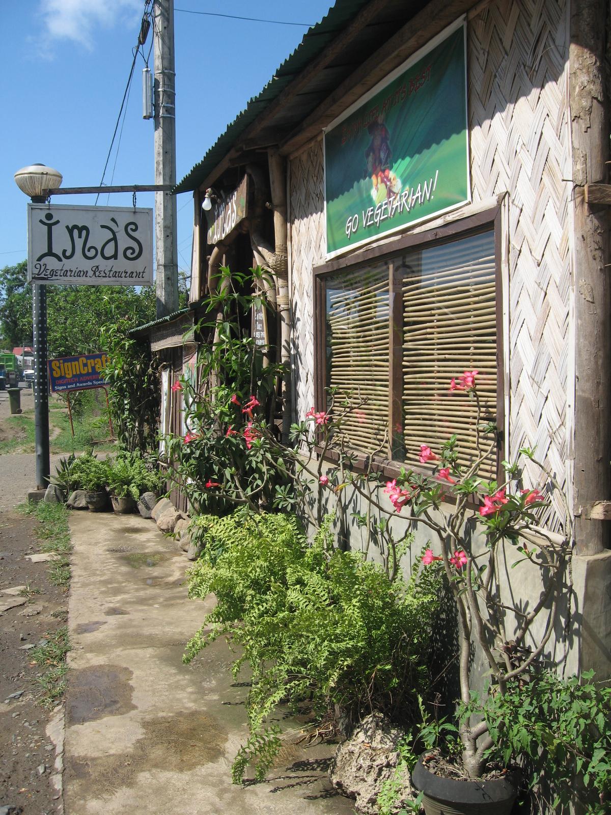 Entrance Ima's