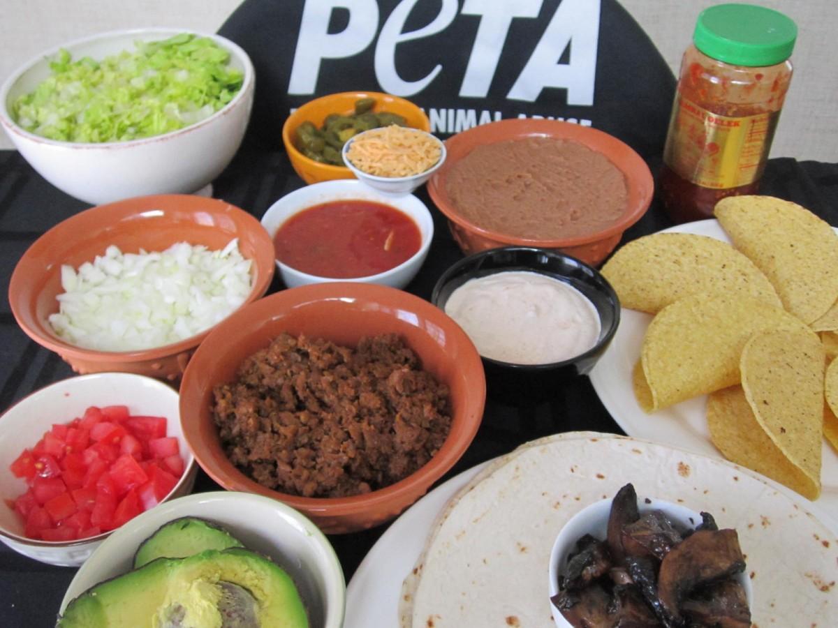 Tacos preparation