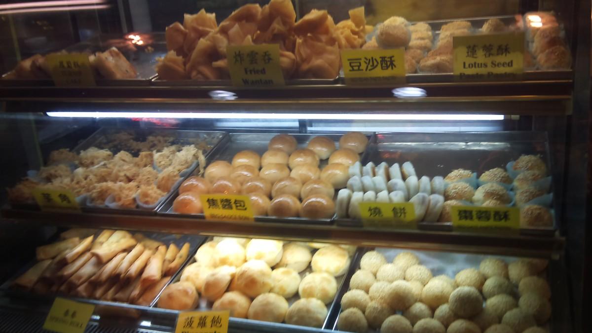 Vegetarian Hong Kong food