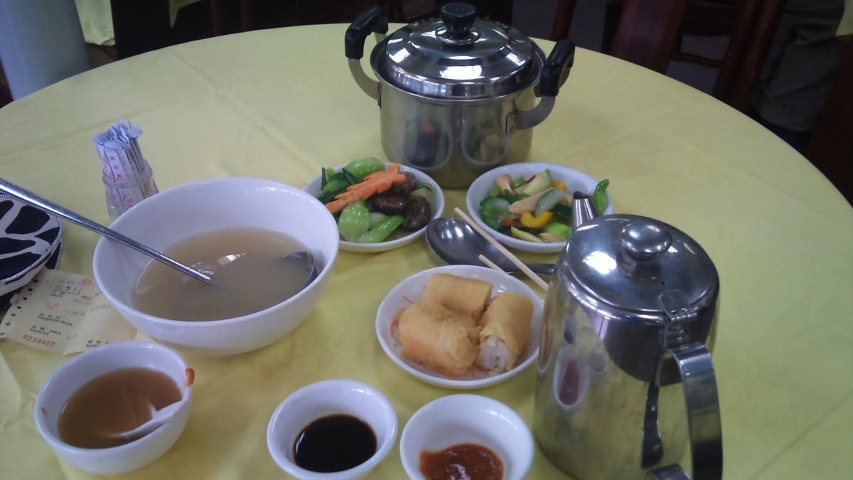 Hong Kong vegetarian food