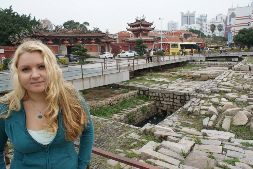 Edwina in China