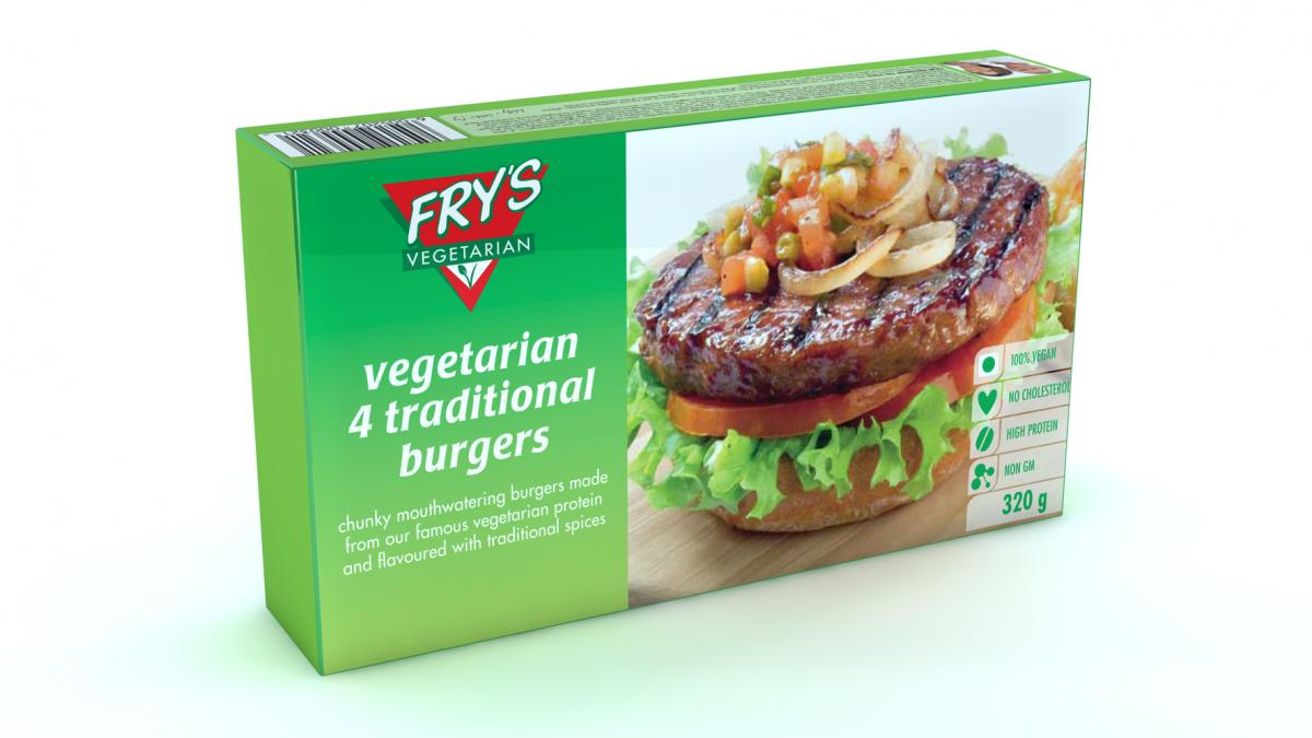 Fry's burger