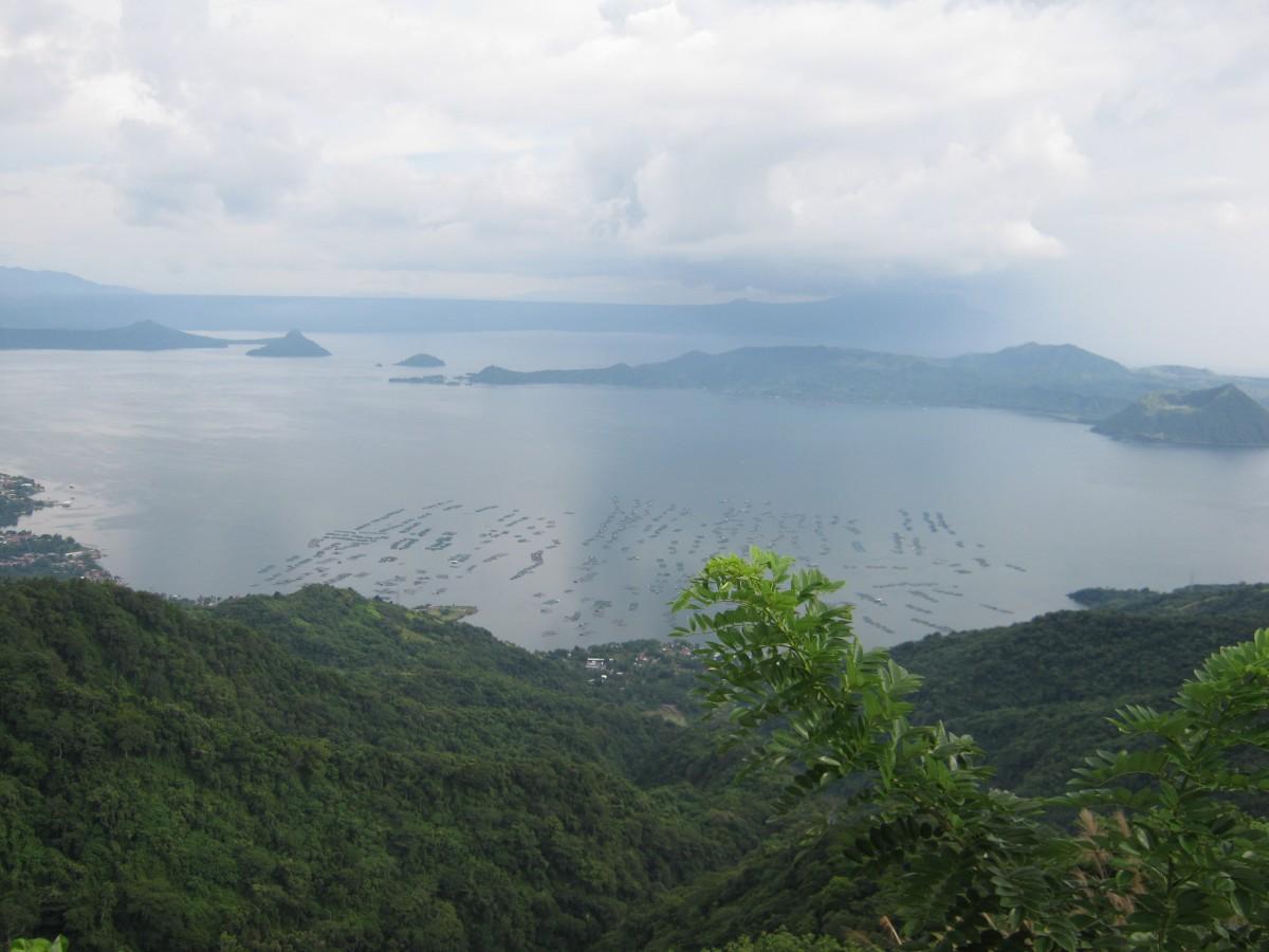 Tagatay Taal Volcano