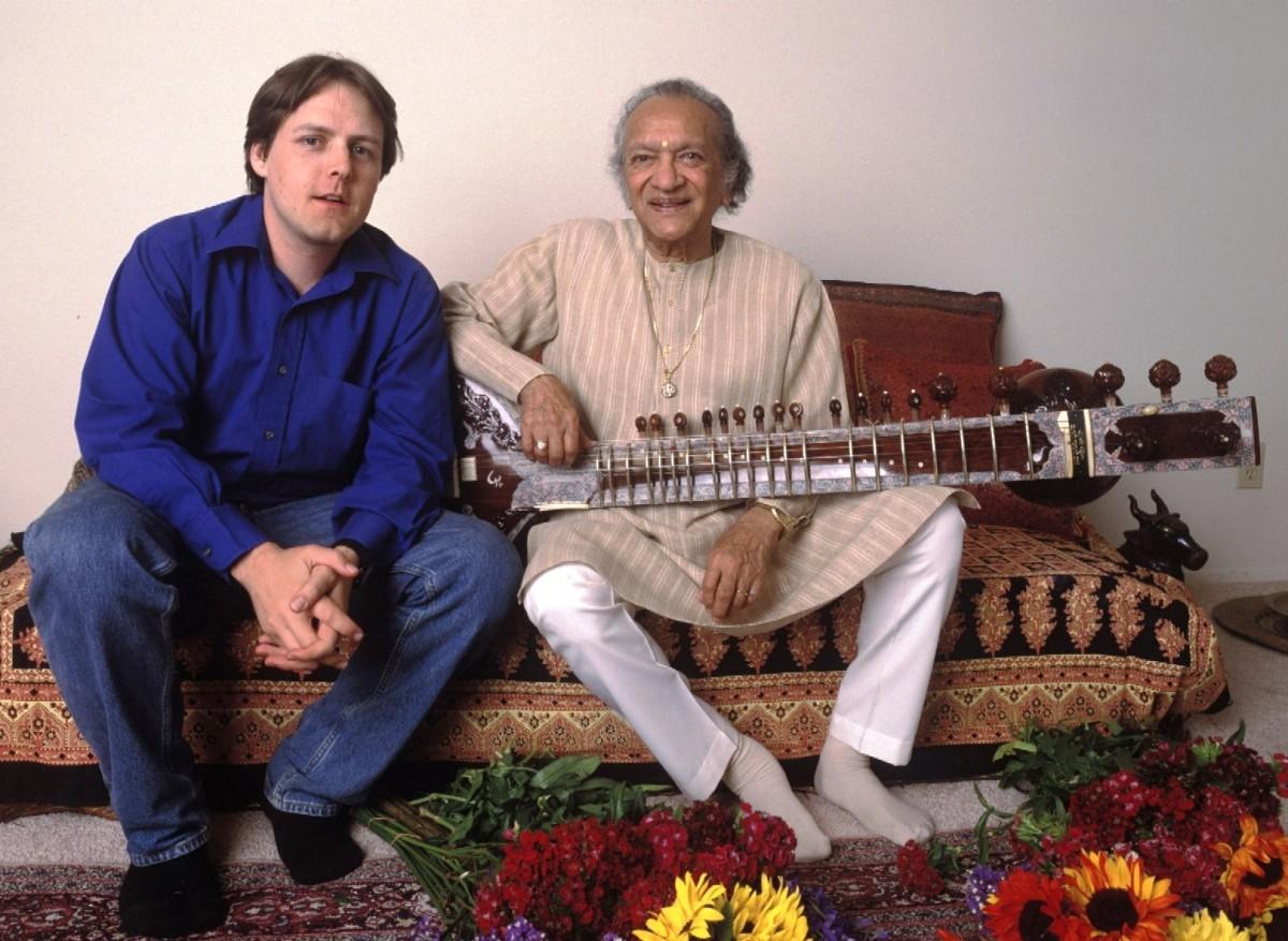 Ravi Shankar and Jason Baker of PETA