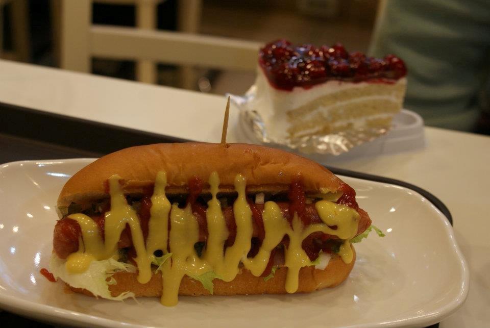 loving hut seoul hot dog