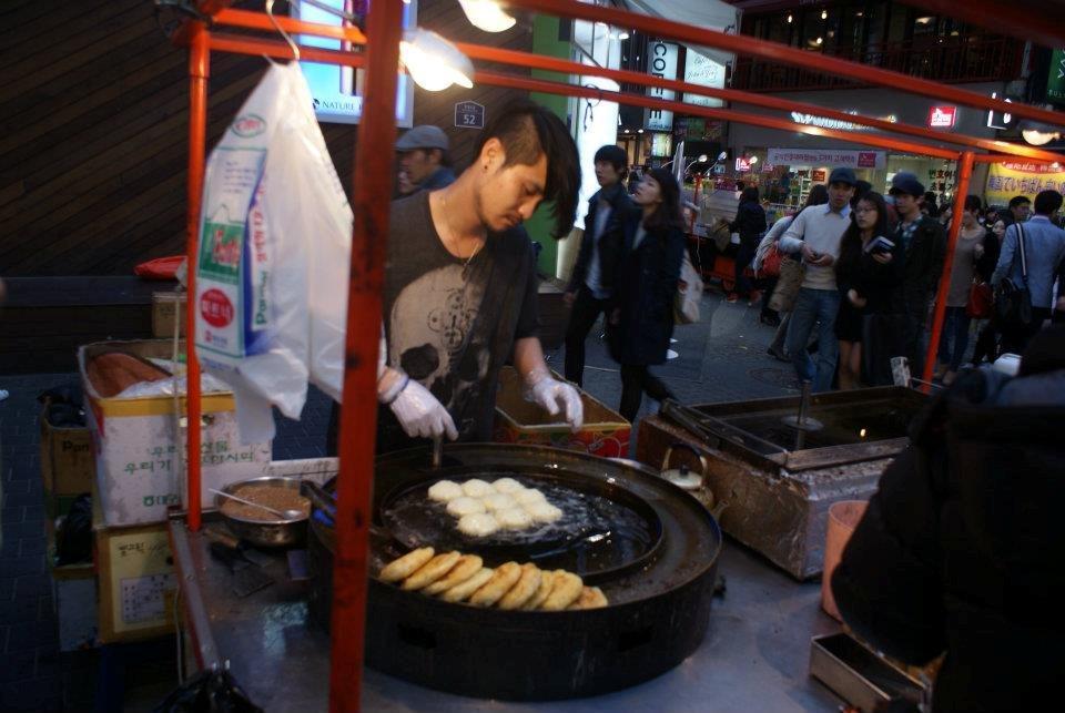Edwina Korea street food