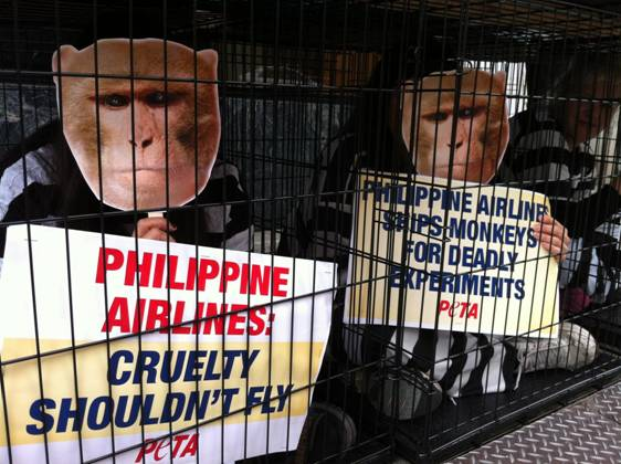 Philippine Airlines protest in USA