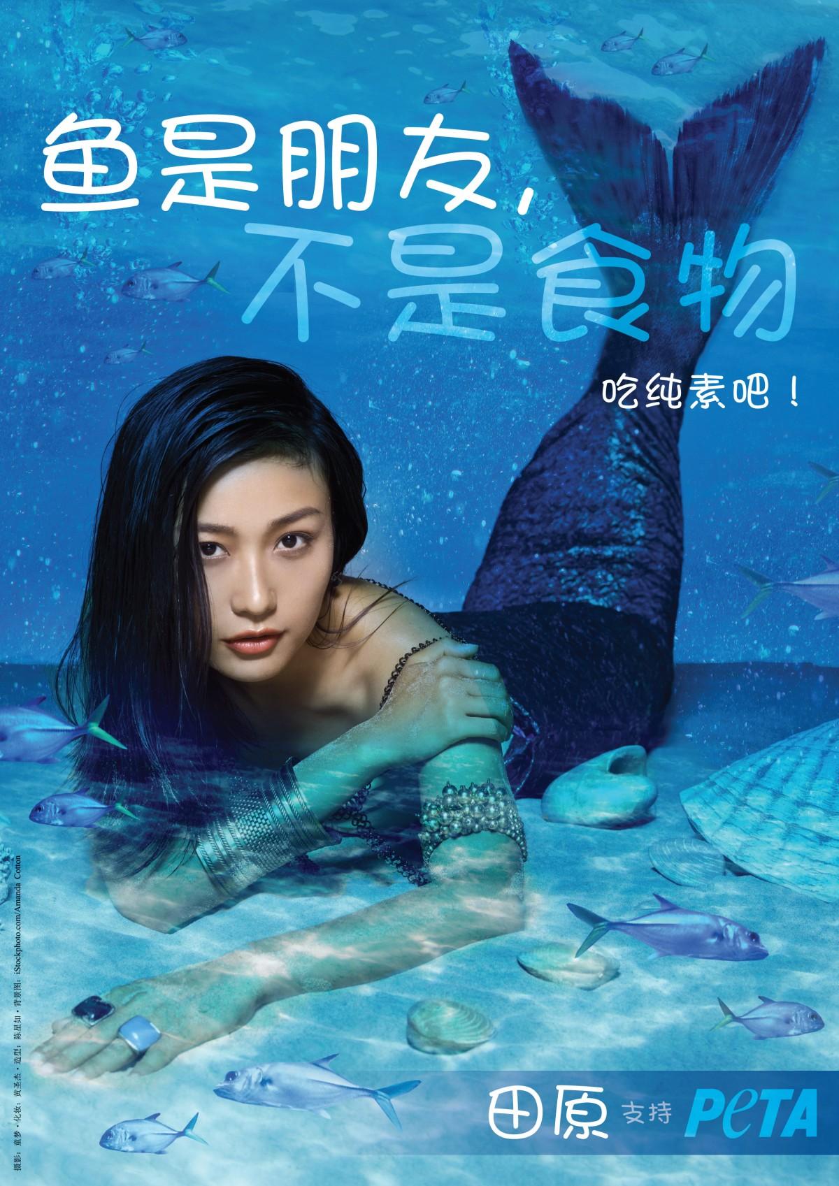 Tian Yuan vegetarian ad