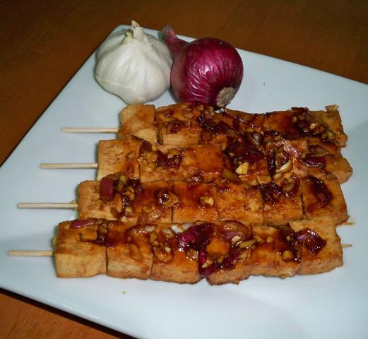 tofu skewer bbq