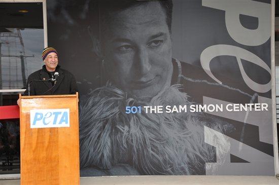 Sam Simon PETA