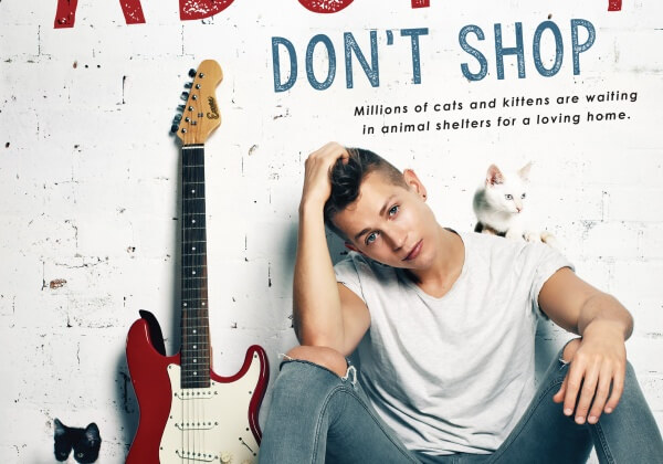 The Vamps' James McVey Says, 'Adopt, and Save a Life!'