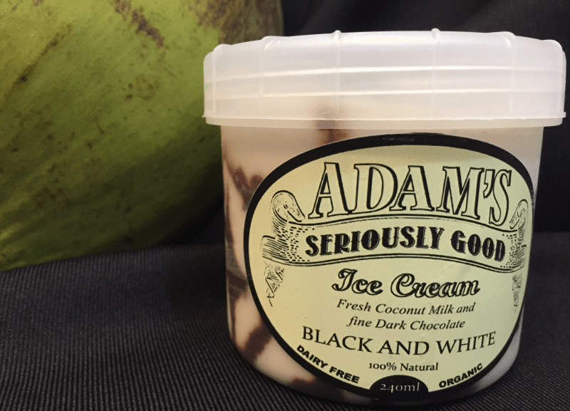 Adams B&W Ice Cream