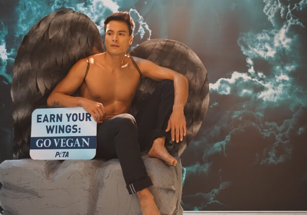 PHOTOS: Hunky Celeb Rafael Rosell Goes Shirtless in New Pro-Vegan PETA Ad