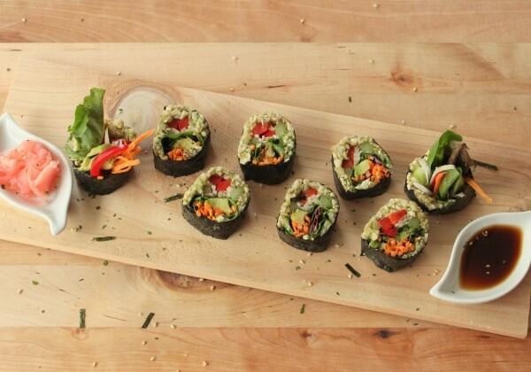 DIY Vegan Sushi