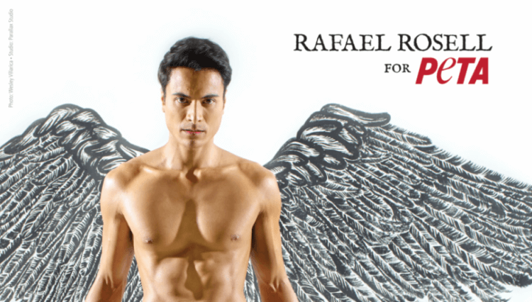Sexy Actor Rafael Rosell Is an Angel for Animals
