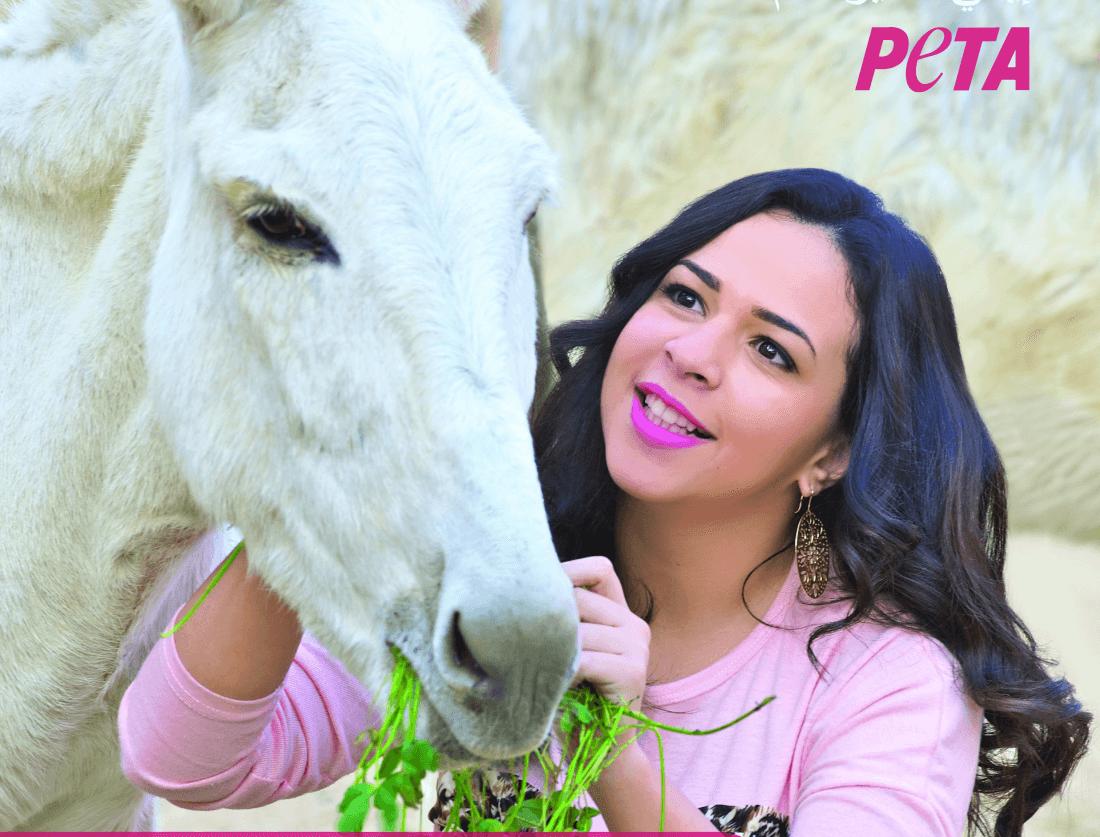 Egyptian Superstar Amy Samir Ghanem Calls for Kindness to Donkeys in Jordan