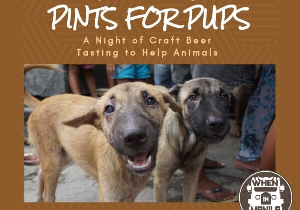 Metro Manila: Love Beer and Animals? Come to Pints for Pups!