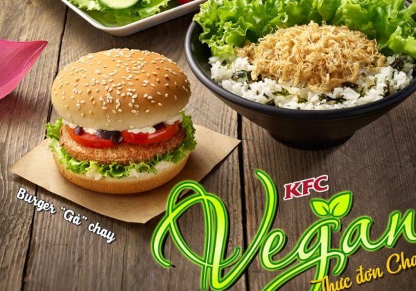There's Now Vegan Options at KFC in Vietnam