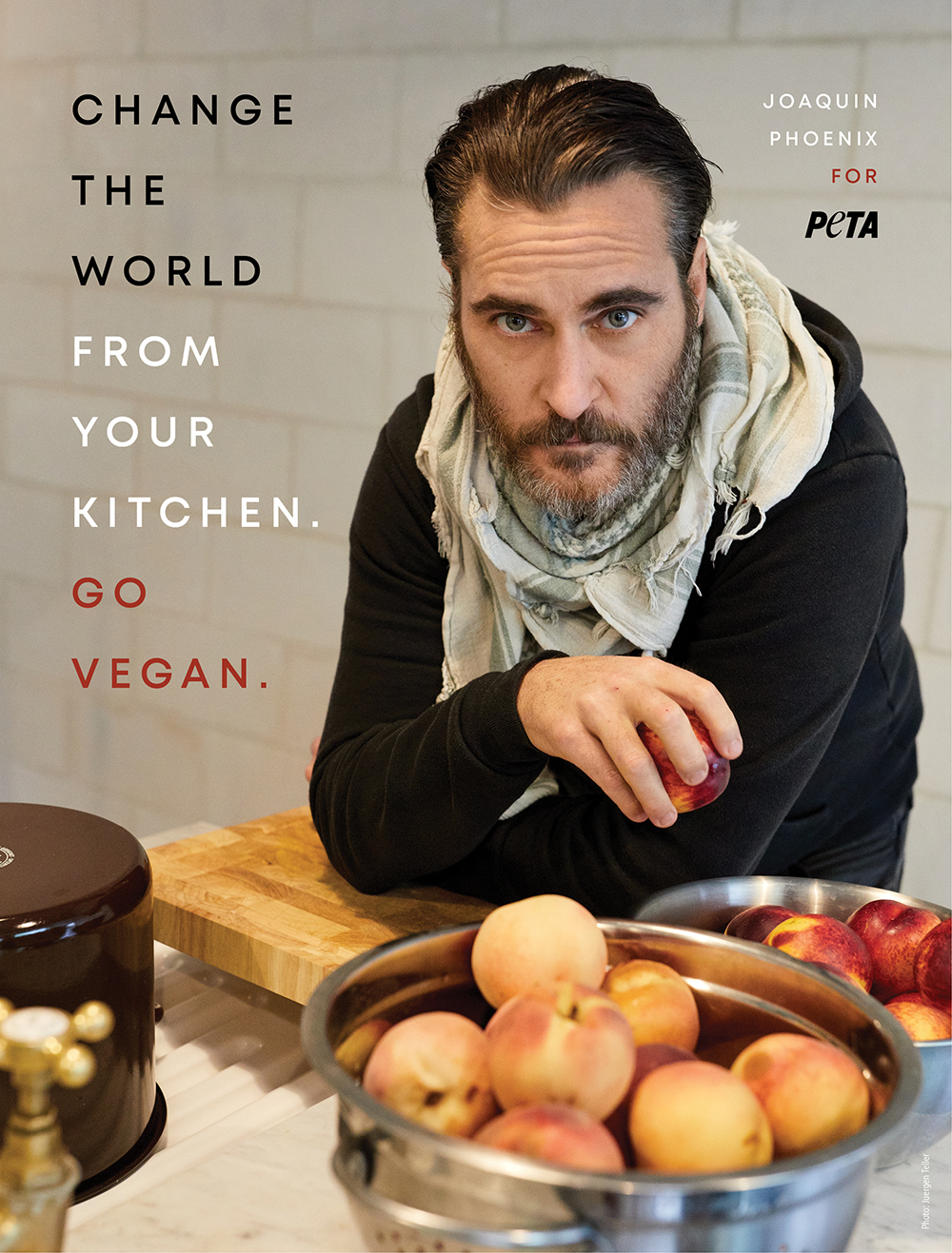 Joaquin Phoenix Wants You to Change the World From Your Kitchen