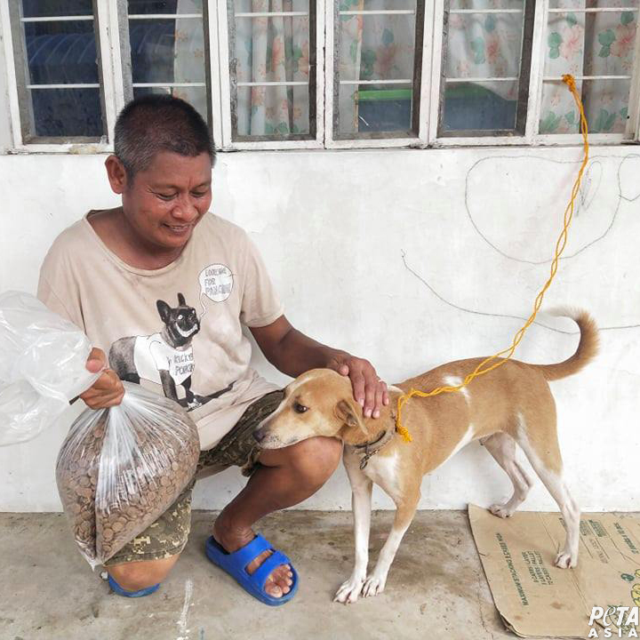 PETA Rescues Animals Affected by Typhoon Vamco