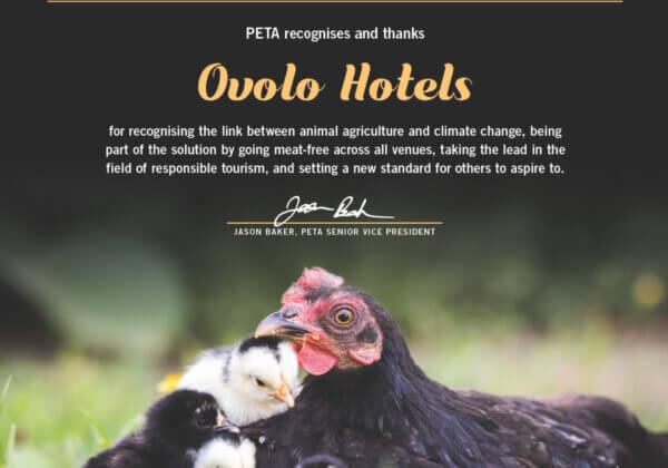 PETA's 2020 Company of the Year Has Meatless Menus